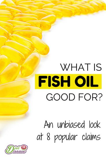 "What is fish oil good for when it comes to chronic disease, skin conditions and weight loss? Are the reported health benefits true… or have they been oversold to us like most other ""healthy"" foods and supplements? This article looks at 8 of the most popular claims to uncover the truth. See it at http://www.dietvsdisease.org/what-is-fish-oil-good-for/"