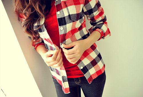 flannels<3.: Fashion Outfit, Chuck Taylors, Dreams Closet, Red Jeans, Style, Clothing, Cute Fall Outfit, Plaid Shirts, Casual Looks