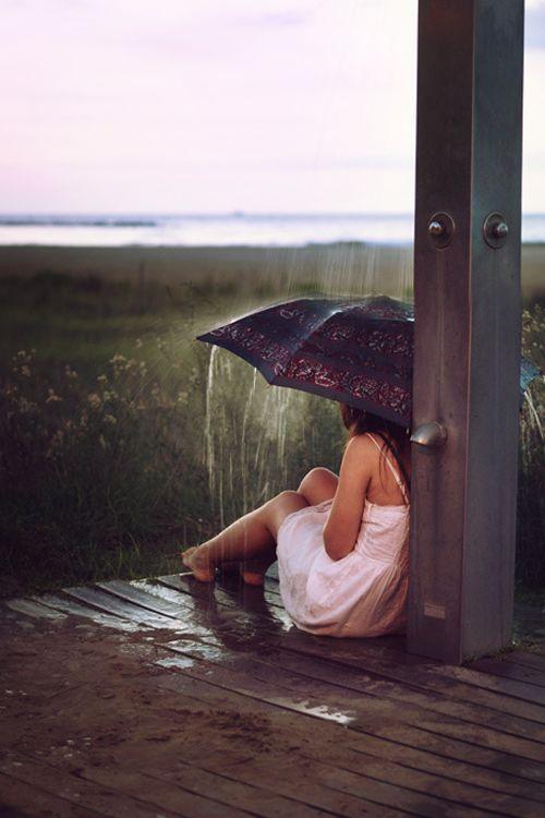 girl cold landscape rain vertical rainy day charlie69universe