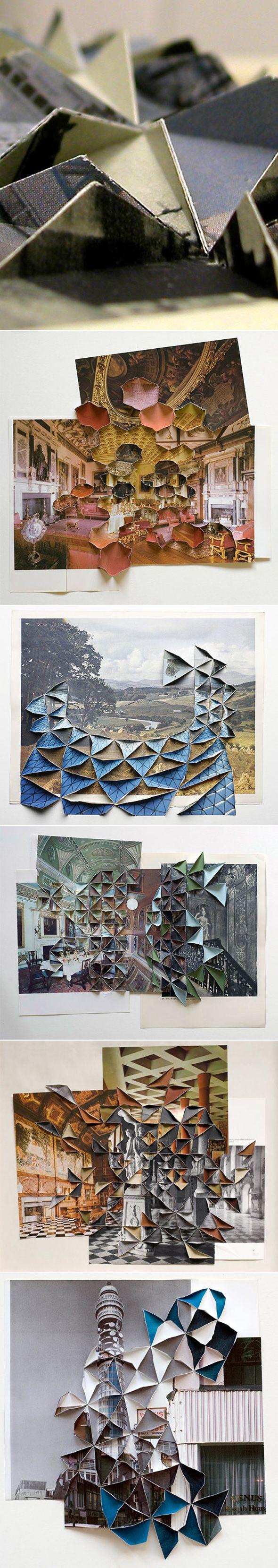 ART >>> Découpe et pli par Abigail Reynolds