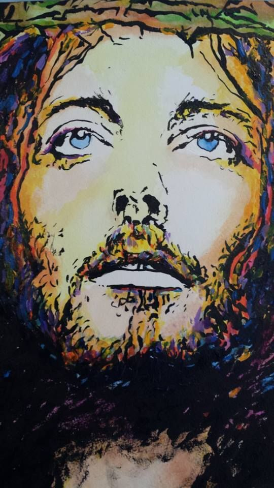 20 best images of jesus contemporary art images on for Art postmoderne