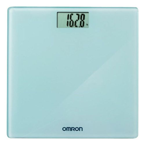 Omron - Digital Weight Scale - Blue