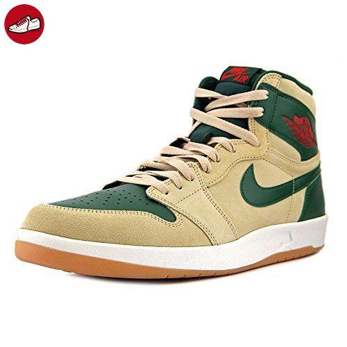 finest selection bc398 ba13c ... Nike Herren Air Jordan 1 High the Return Turnschuhe, Beige   Rot   Grün  ...