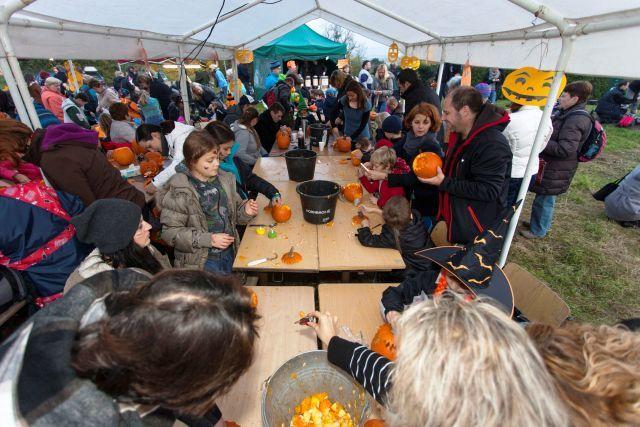 Akce pro děti v Praze na Halloween 2015 Halloween v Troji 31.10.2015 15 - 19 h Strašidelná atmosféra, dýně, kam se podíváš, jejich dlábání... A až