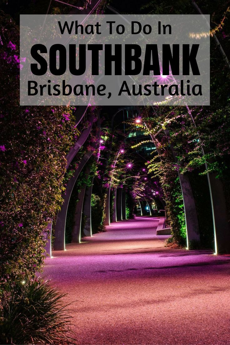 Stuff To Do Around South Bank Brisvegas. Manmade beach, ferriss wheel, temples etc.