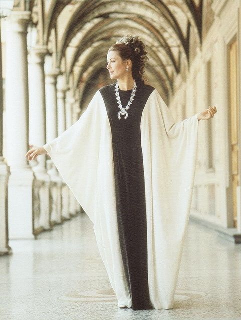 Princess Grace of Monaco wearing a creation by Grès and photographed by Richard Avedon for Italian Vogue