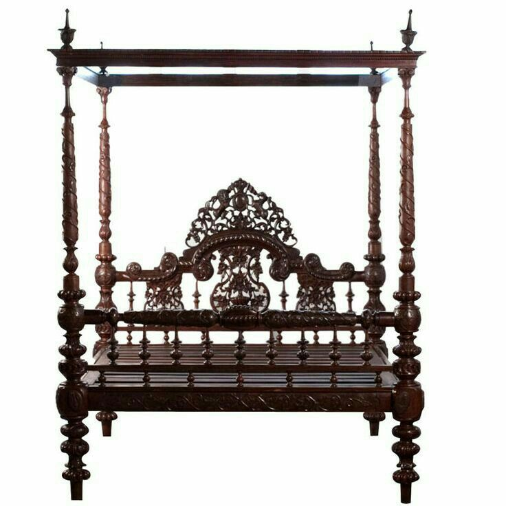 indian bedroom furniture catalogue%0A Michael Donaldson Antiques  AngloIndian Heavily Carved Mahogany Four  Poster Bed  wonderful bedframe