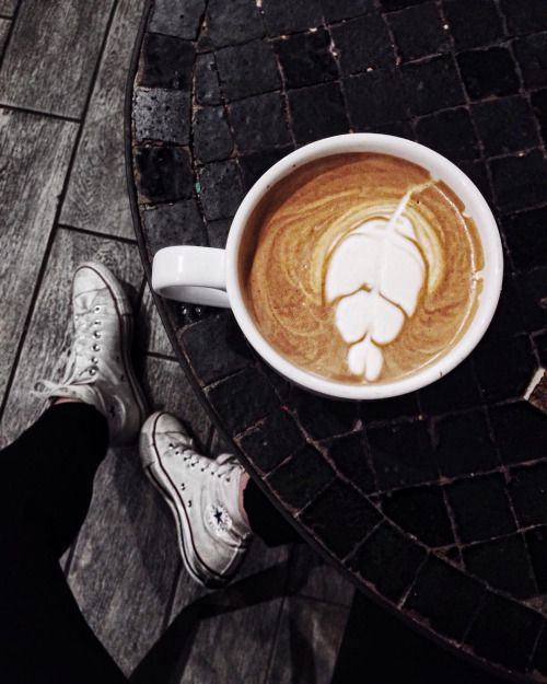 Coffee over everything.