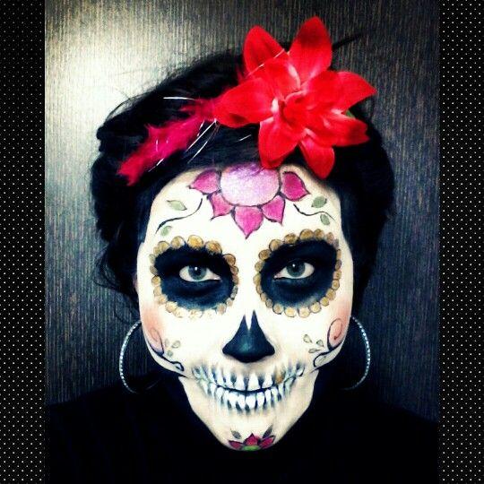 #catrina #Halloween #makeup inspirado en #TheBookOfLifemovie #BookOfLife