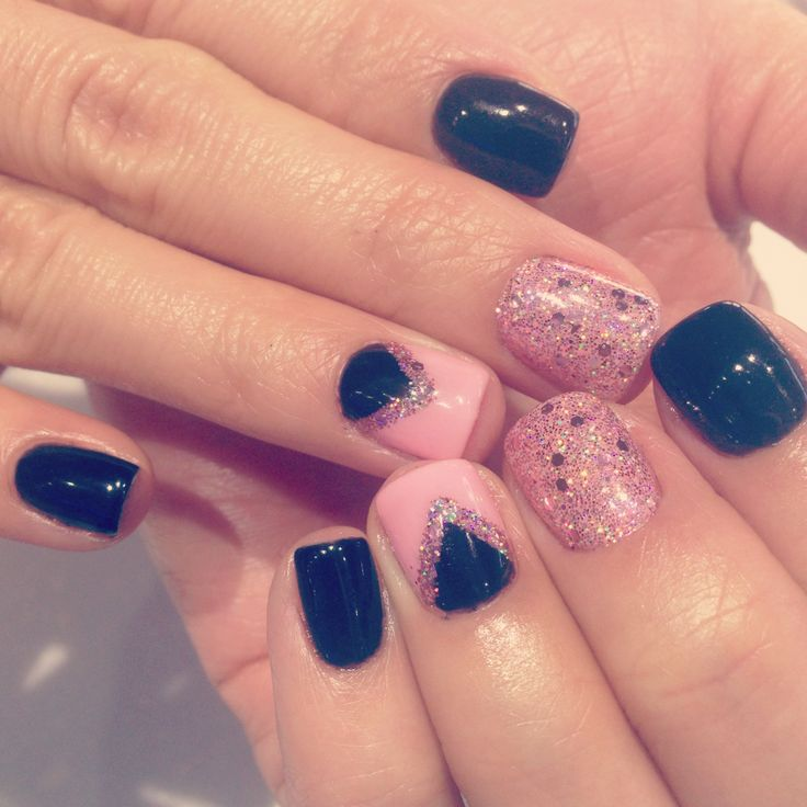 119 best cute nail designs images on pinterest hair dos cute nails cute nail design with gel color nochipmanicure prinsesfo Images