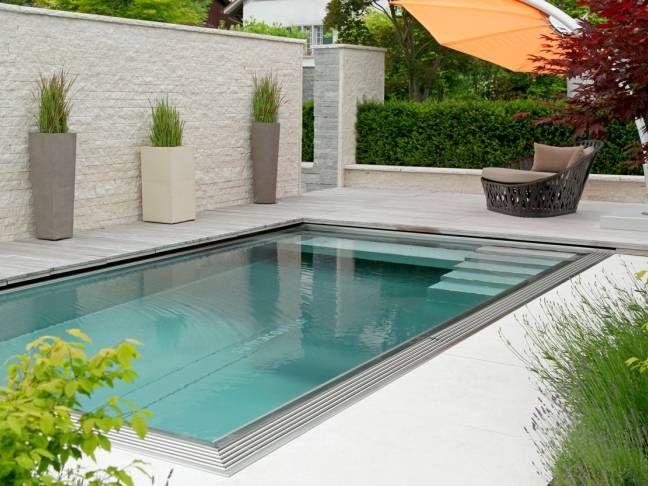Luxury Living Pool Technik f r nat rlich gereinigte Swimming Pool Gartenbau Gartenumbau