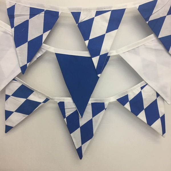 We have beautiful Bavarian hoffbrauhaus bunting for your next beerfest
