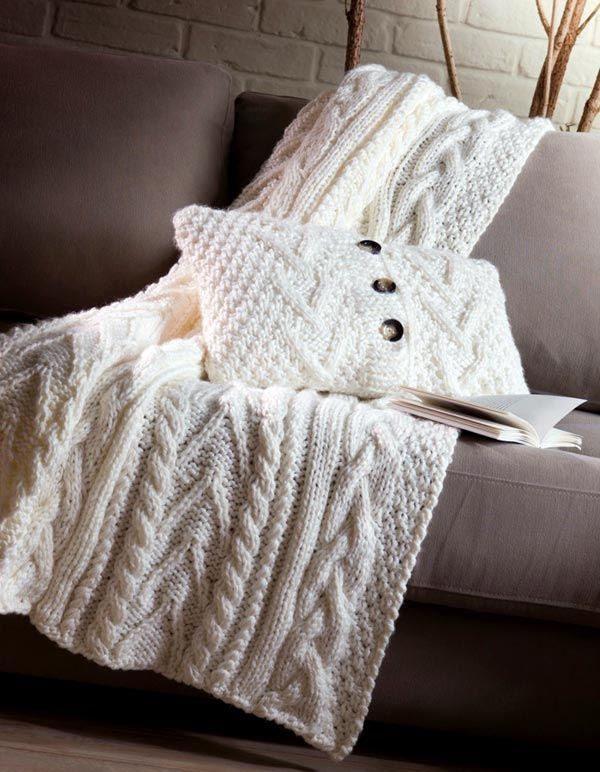 Пледы в интерьере: комочек тепла для вашего дома (фото) | Дом Мечты