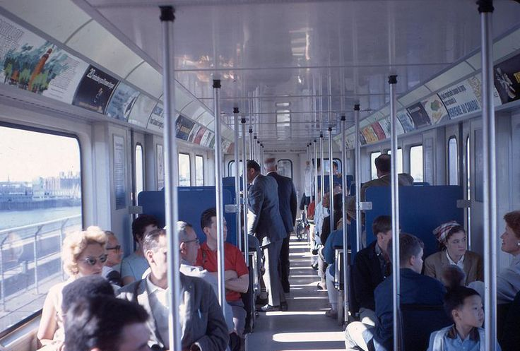 Inside the Expo-Express (Expo 67)
