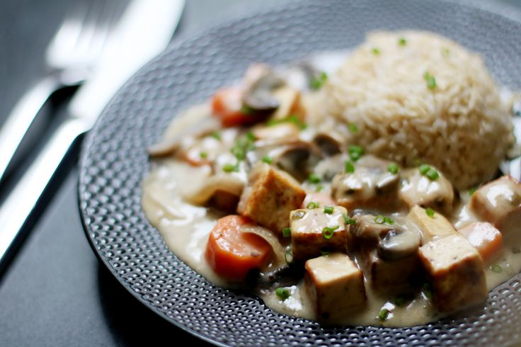Blanquette de tofu (vegan)