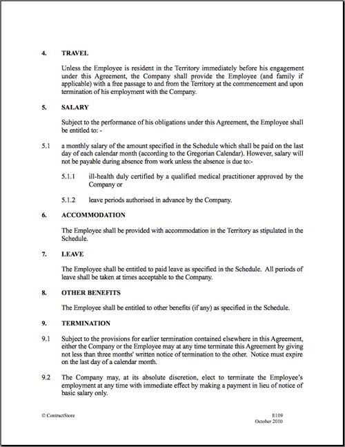 889 best images about Basic Template for Legal Forms – Employment Contract Form