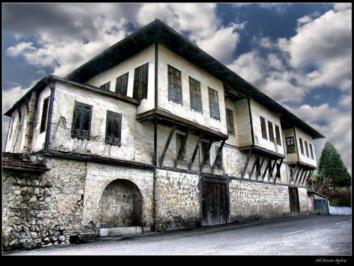 A Safranbolu house. -Safranbolu is a town and district of Karabük Province in the Black Sea region of Turkey.