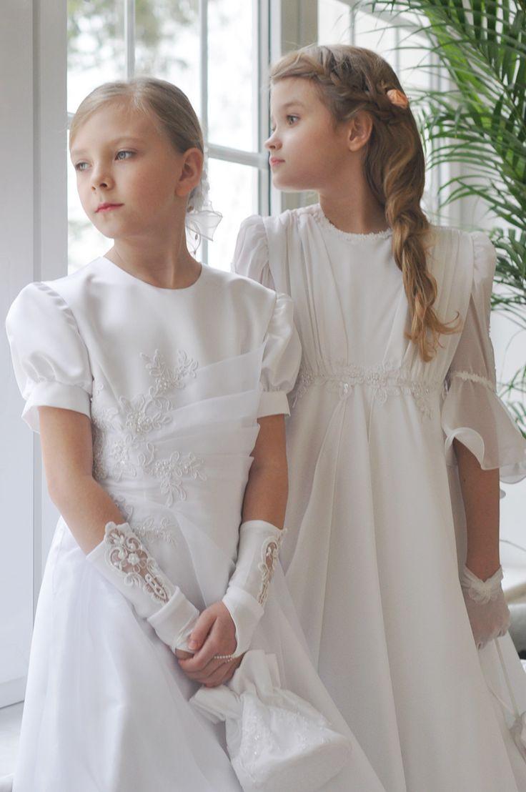Sukienki na Komunię