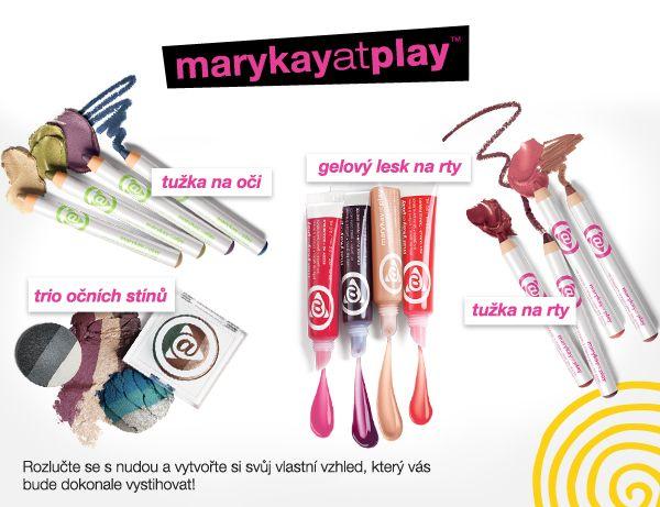 Kolekce dekorativní kosmetiky marykayatplay™. Pohrajte si s ní i vy! :)