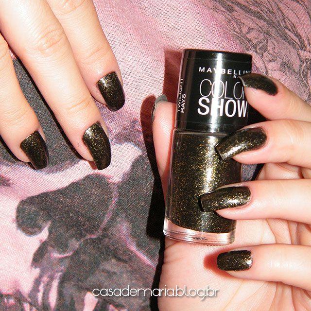 Esmalte Maybelline Color Show Twilight Rays www.blogcasademaria.com.br
