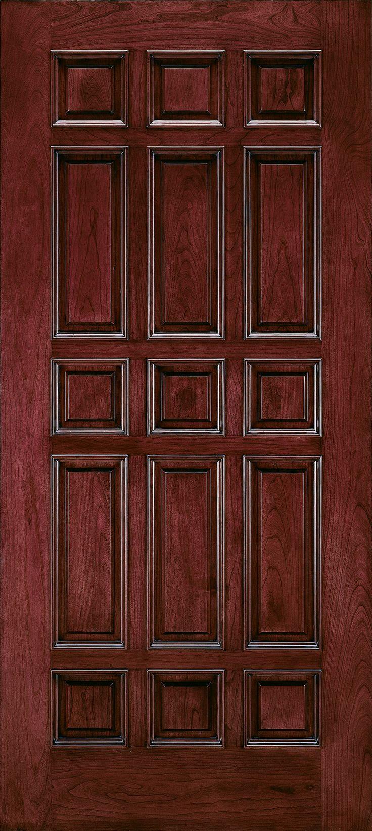 Home windows amp doors doors interior doors - Custom Wood All Panel Interior Door Jeld Wen Windows Doors