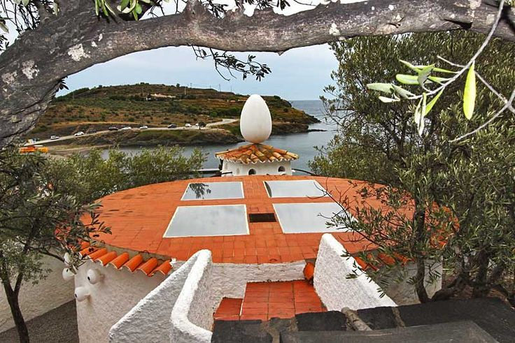 Salvador Dali Bought Numerous Fishing Shacks and Connected Them to Create His Famous Cottage in Port Lligat, Near Cadaques, Spain