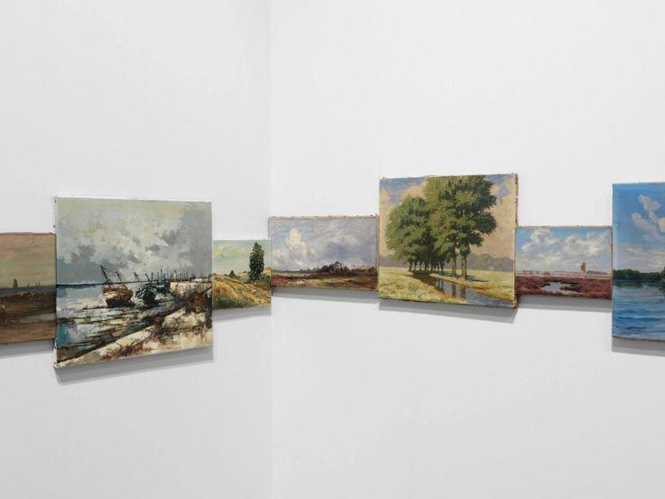 Un horizon qui traverse 33 tableaux
