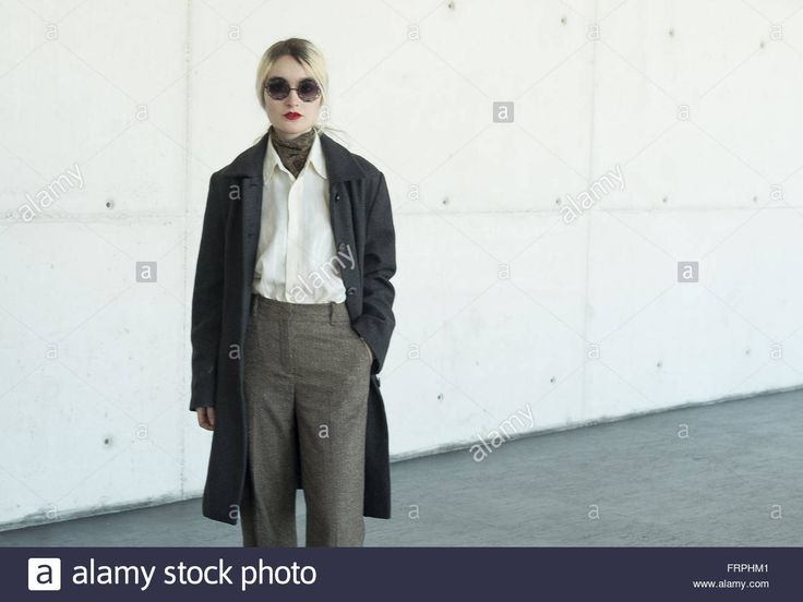 Mercedes-Benz Madrid Fashion Week Autumn/Winter 2016/2017 - Street Style  Featuring: Atmosphere Where: Madrid, Spain When: 20 Feb 2016 Stock Photo