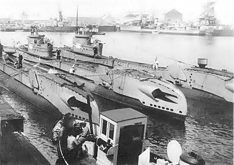Dutch submarines.ca 1940 - pin by Paolo Marzioli