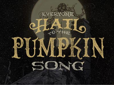 Everyone Hail To The Pumpkin Song by Nicolas Fredrickson (Omaha, NE)