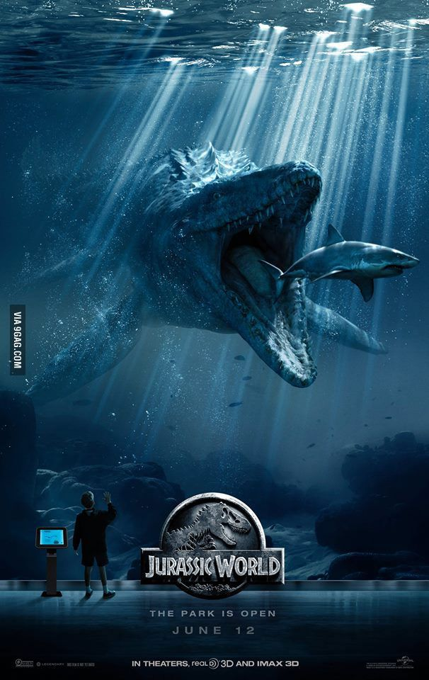 """Jurassic World: Release date- June 12, 2015. """"The story unfolds 22 years after the events of """"Jurassic Park,"""" in a fully functional resort on Isla Nublar that sees more than 20,000 visitors a day."""" -imdb.com"""