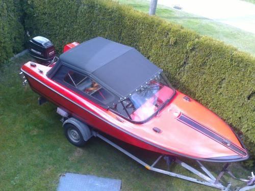 Motorboot Sportboot MERLIN 40 PS Mercury kein Bayliner, Searay in Nordwestmecklenburg - Landkreis - Zickhusen | Motorboote kaufen | eBay Kleinanzeigen