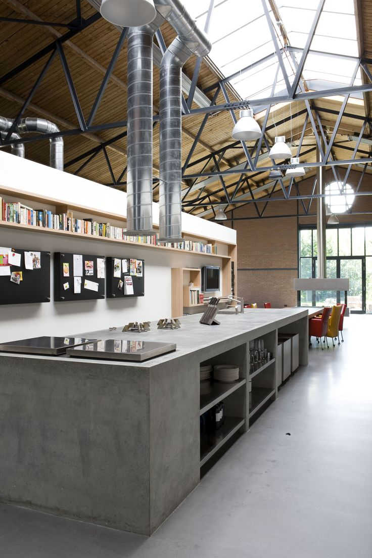 The Living Kitchen - moderne industriële keuken | OBLY.com inspiratieplatform & blogazine luxe wonen