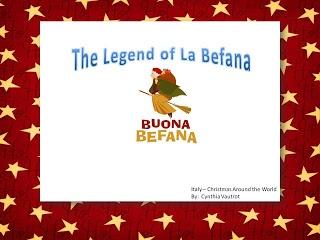 Classroom Freebies Too: Christmas Around the World...Legend of La Befana