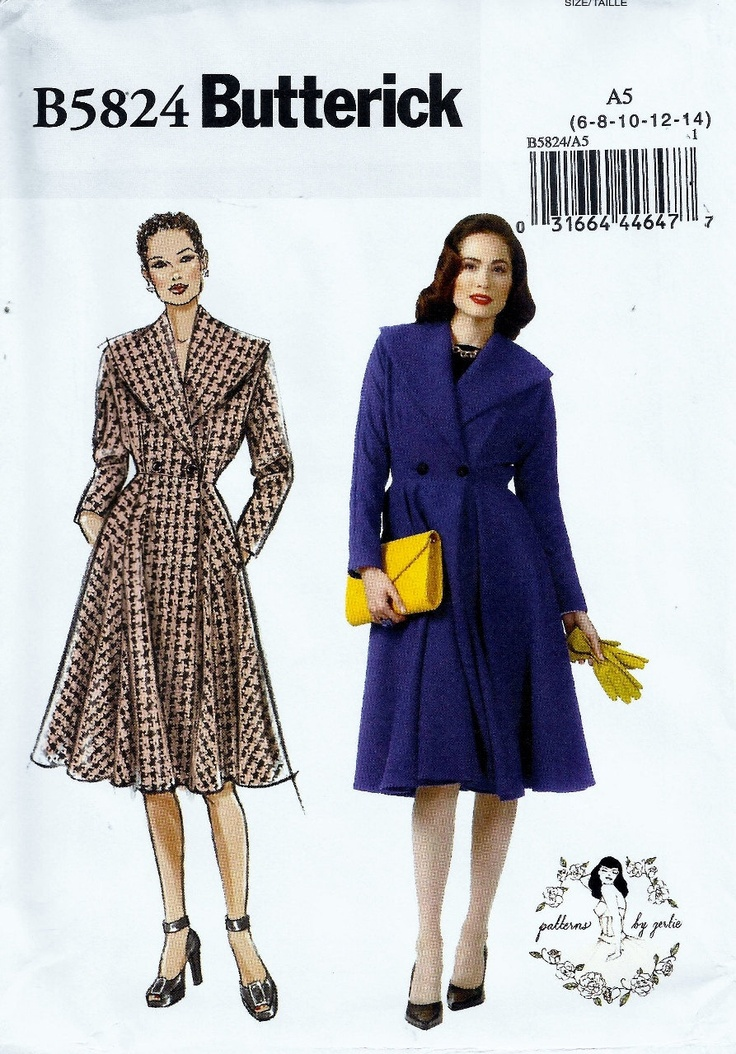 125 best Outerwear, jackets and vests patterns images on Pinterest ...