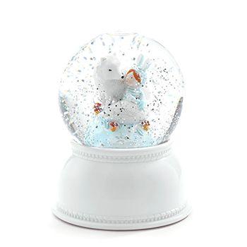 Djeco Φωτιστικό νυκτός «Χιονόμπαλα Lila & Pupi»
