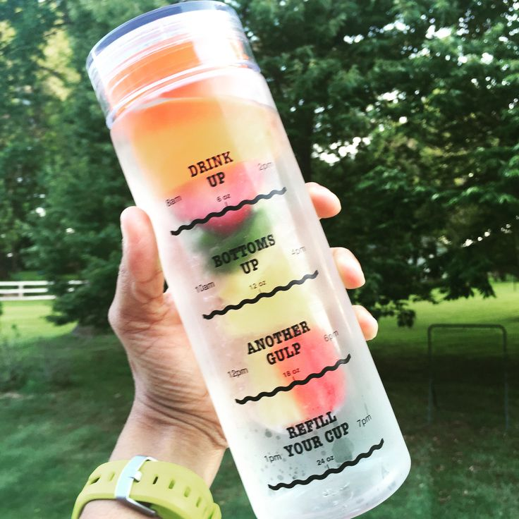 The thirst is real but it doesn't have to be your reality.  Get your very own Infusion Water Bottle with Drink Tracker.  It's sleek, convenient, functional and helps to flavor your water with the infusion basket so it doesn't taste boring.  #HydrationNation