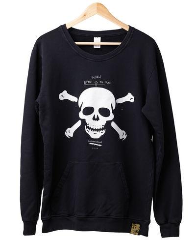 Sushi Radio Skull Crew (Vintage Black) $129.95