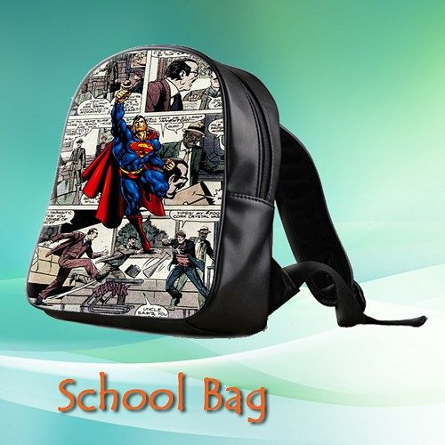 Custom School Bag (Medium)  This high-quality  school bag is the perfect accessory for school children. Made from high-grade PU leather. It is the perfect way for children to carry all of their books,