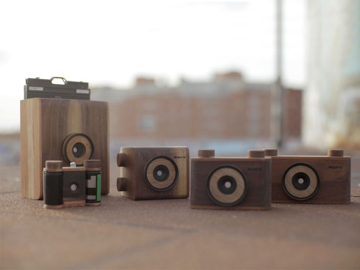 NOPO Camera - Handcraft pinhole cameras, patiently made in Madrid / certified wood