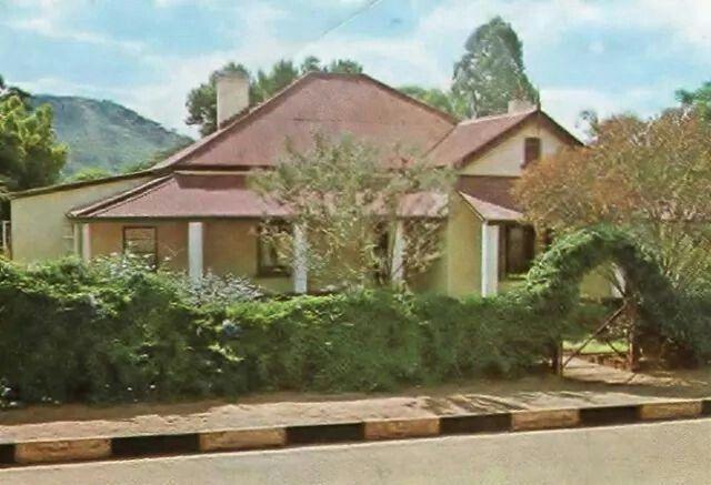 Ian Smith's boyghood home in Selukwe.