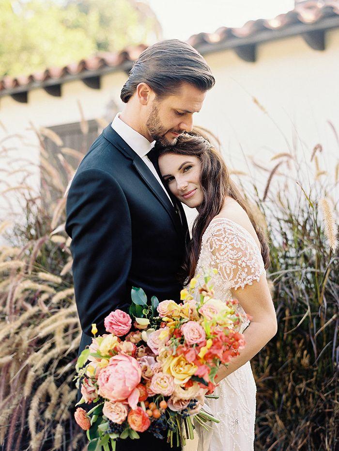 Magic Hour Wedding Photos in Southern California