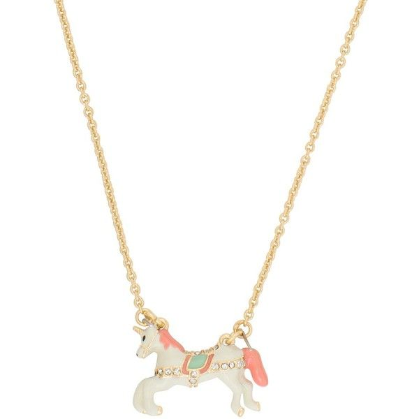 Kate Spade Carnival Nights Unicorn Mini Pendant (640.140 IDR) ❤ liked on Polyvore featuring jewelry, pendants, necklaces, accessories, charm pendant, kate spade jewelry, unicorn jewelry, mini pendants and unicorn pendant