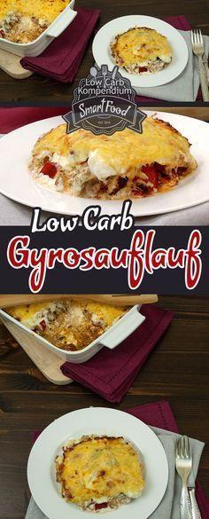 Eine würzig-leckere Kombination aus Gyros und Auflauf. Dieses Low Carb Gericht ist schnell zubereitet und begeistert Klein & Groß :)