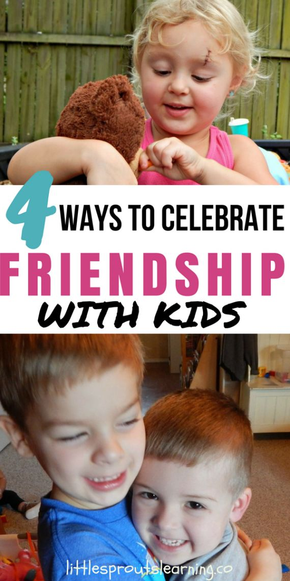 This past week at Little Sprouts we have been celebrating Friendship week. Its fun to do special events with kids to break up the long days at daycare.