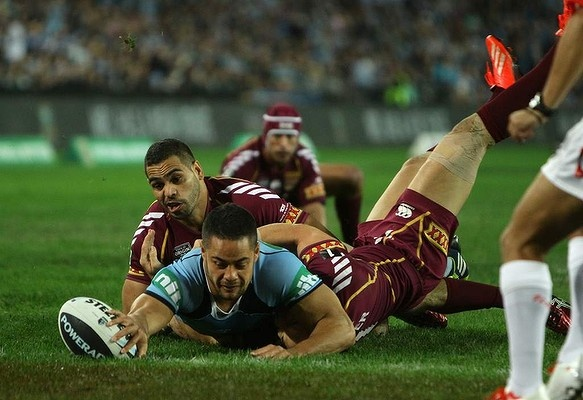 All the action from game one of State of Origin, 2013 - NSW Blues vs the…