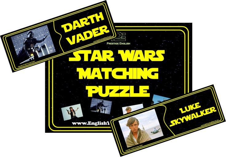 Matching Puzzle - Star Wars (1977-1983)