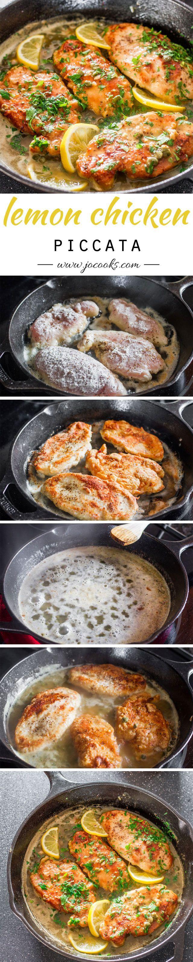 Lemon Chicken Piccata - Dan 330
