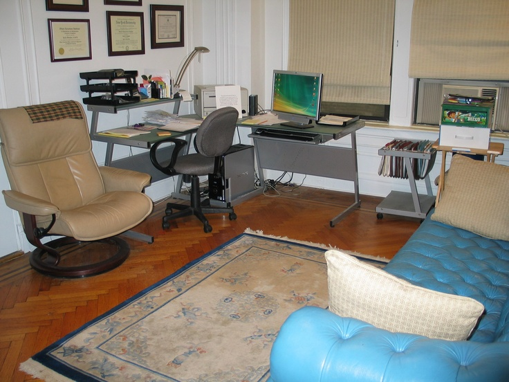 The office of Kalila Borghini, LCSW in New York, New York, USA