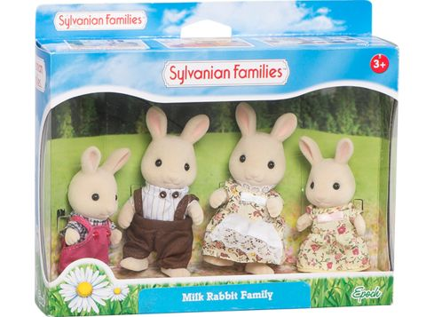 SYLVANIAN FAMILIES familien Melkehvit Kanin